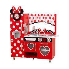 kidkraft disney jr minnie mouse vintage kitchen play set for ages