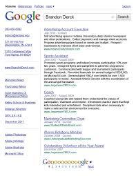 resume template for google docs template google resume template
