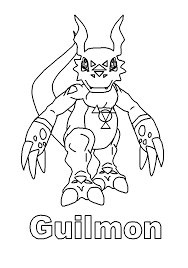 digimon coloring pages 39 gif 700 1000 lineart digimon