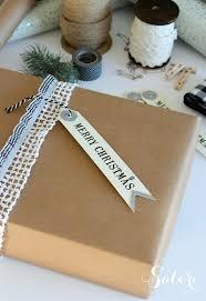 vintage glam christmas gift wrap satori design for living