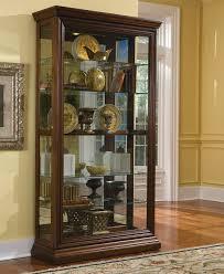 Curio Cabinets Shelves Darby Home Co Purvoche Lighted Curio Cabinet U0026 Reviews Wayfair