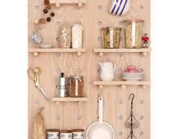 Peg Board Shelves by Peg Wall Pegboard Feature Wall Wall Decor Open Shelving
