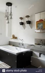 how low should pendant lights hang over bathroom vanity modern