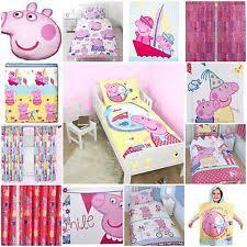 Peppa Pig Bed Set by Children U0027s Peppa Pig Bedding Sets And Duvet Covers Ebay