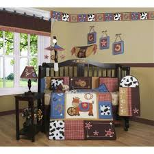 Cowboy Bed Sets Geenny Western Cowboy 13pcs Crib Bedding Set