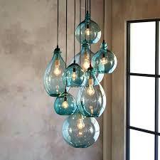 glass pendant light shades blown glass pendant lights putokrio me