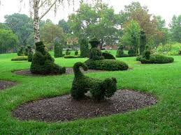 the topiary park of columbus the topiary park a landscape of a