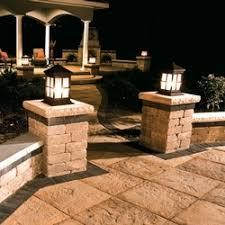 Patio Pillar Lights 20 Best Lights Images On Pinterest Exterior Lighting Landscape
