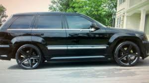 2008 jeep grand srt8 all black 2008 jeep grand srt8 22 rims exhaust and camm