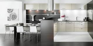 black and white kitchen ideas elegant black and white kitchen design with three chairs and