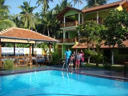 fantastic swimming pool picture of damith guest house