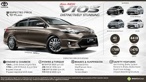 toyota vios key facts about the upcoming toyota vios sedan