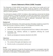 sow template statement of work template jpg