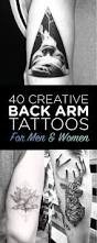 hand tatto for men best 25 back arm tattoos ideas on pinterest bicep tattoo ink