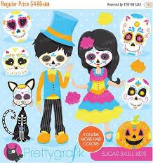 Sugar Skulls For Sale Dia De Los Muertos Kids Clipart Clipartxtras
