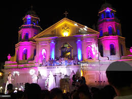 quiapo church celebrates easter sunday on midnight where a