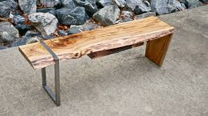 modern maple and steel coffee table part 2 how to build
