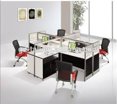 Modular Office Furniture Wholesale Modular Office Furniture 4 Seat Office Workstation