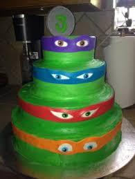 ninja turtles cake google search party ideas pinterest