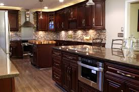 chocolate kitchen cabinets photos kitchen