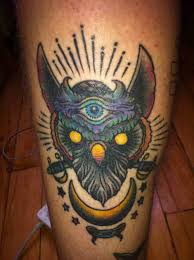 northern spotted owl tattoo sketch real photo pictures images