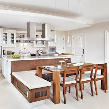 kitchens with island benches a place to sit which booths and integrated kitchen seating are