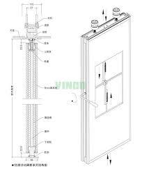 construction material artistic partition wall wooden sliding door dressing room sliding door