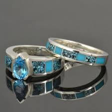 turquoise and wedding ring turquoise engagement rings and wedding ring photos shop turquoise