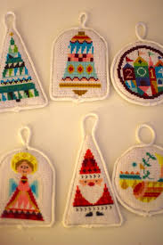up cross stitch ornaments the sweatshop of