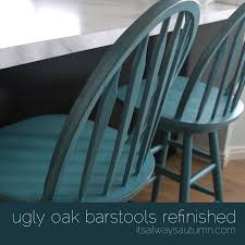 How To Refinish A Table Sand And Sisal by Refinishing The Bar Stools Paint Furniture Bar Stool And Stools