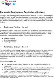 download fundraising strategy templates for free formtemplate