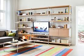 Modular Wall Units Contemporary Tv Wall Unit Wooden Metal Modular 7000 By F P
