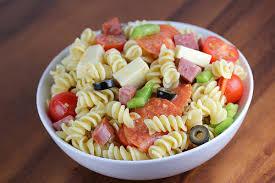 pasta salad recipes cold italian pasta salad recipe blogchef net