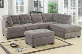 Leather And Suede Sectional Sofa Sectional Sofa Design Suede Sectional Sofa Chaise Black Brown
