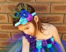 peacock headband peacock headband etsy