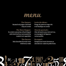 menu design for dinner party corporate dinner set up harry potter style menu design with