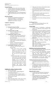 nursing process handouts
