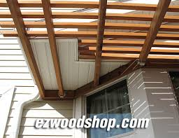 Wood Pergola Plans by Pergola Plans How To Build A Pergola Attached To House Or Deck