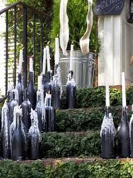 Outdoor Christmas Decorations Hgtv by 19 Outdoor Christmas Decorating Ideas Candelabra Hgtv And Bottle