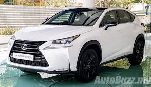 lexus nx 200t special edition launched all nx variants updated