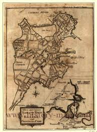 Massachusetts Town Map by In 1700 U0027s