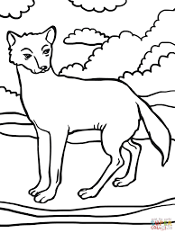 dingo dog coloring page free printable coloring pages