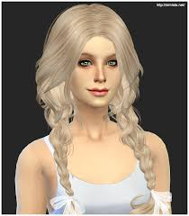 cc hair for sism4 sims 4 hairs simista newsea s ela 23 hairstyle retextured