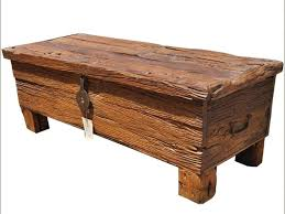 Rustic Coffee Table Trunk Trunk Pottery Barn With Rustic Coffee Table Idea 4