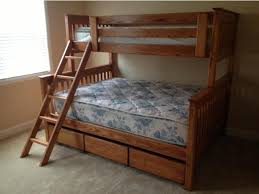 bedroom best design of twin over queen bunk bed