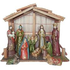 Michaels Decor In Store Only Get The Baroque Nativity Set By Celebrate It At