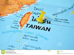 Map Of Taiwan Taiwan Map Stock Photo Image 8731840