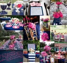 107 best navy and pink bridal or baby shower images on pinterest