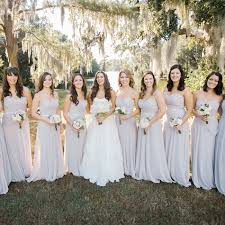 light gray bridesmaid dresses light gray bridesmaid dresses with small bouquets photographer