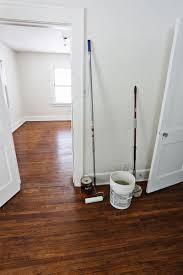 how to clean old hardwood floors how we refinished our old hardwood floors via a beautiful mess